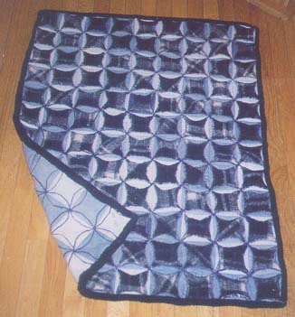 Dina's Jeans and Flannel Quilt