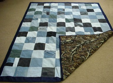 Blue Jeans Denim Quilt Gallery Quilters Recycle And