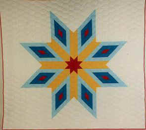 Lone Star Quilts - A Quilt with History and Meaning : native american star quilt - Adamdwight.com