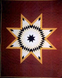 Lone Star Quilts - A Quilt with History and Meaning : lakota star quilts - Adamdwight.com